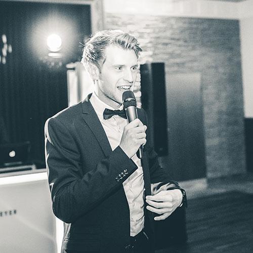 Julian Hügelmeyer - Entertainment Moderation